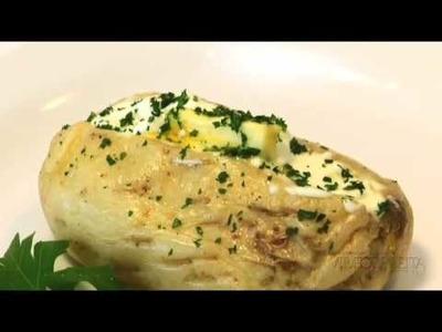 Vídeo Receita - Baked Potato de Microondas
