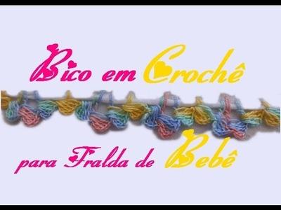 BICO PARA FRALDA DE BEBÊ-CARREIRA ÚNICA
