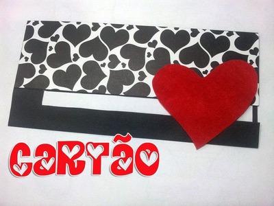 DIY: Cartão para o Namorado - Aprenda com a Iv