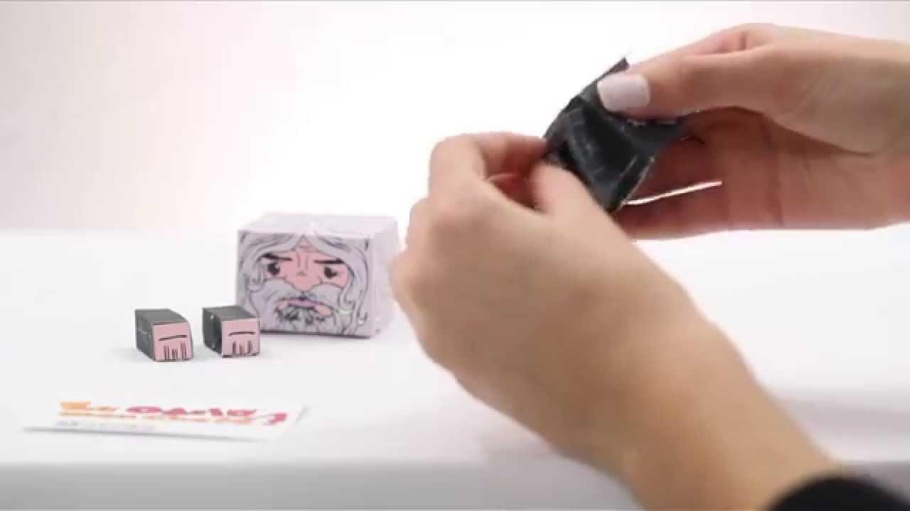 Eu Odeio Meu Chefe - Como Montar Paper Toy