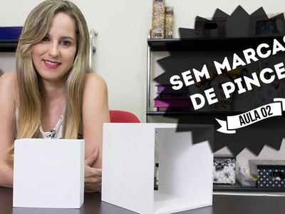 Como Pintar Sem Deixar Marcas de Pincéis na Madeira - Curso de Artesanato para Iniciantes