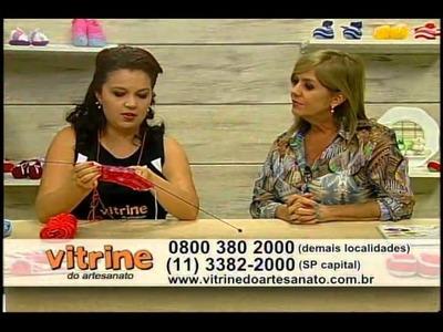 Sapatinho Pedro com Jaqueline Santos - Vitrine do Artesanato na TV