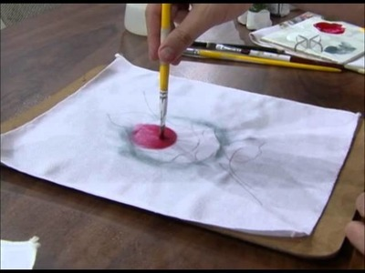 Mulher.com 03.10.2012 Luis Moreira - Pintura em tecido