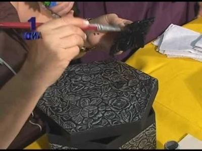 PASSO A PASSO PORTA JOIA EM PAPEL CRAFIT ARTESÃ ROSIMARY PARTE 02