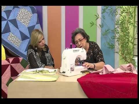 Almofada de flor com Yvone Lobato e Bordado com Elza Aidar | Vitrine do Artesanato na TV