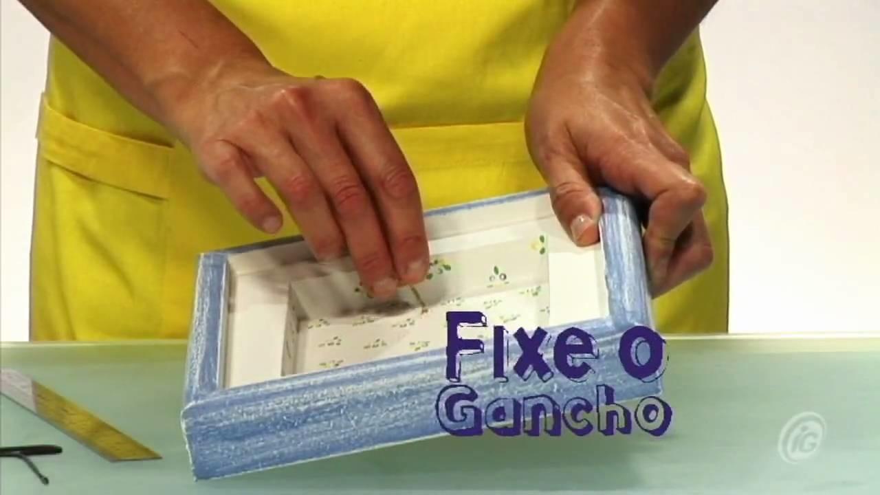 Faça Você Mesmo: Aprenda a fazer uma caixinha de lembranças emoldurada
