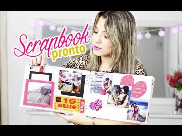 Presente para o namorado -  Scrapbook pronto #2   Kathy Castricini