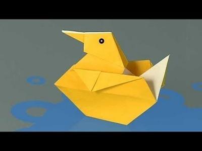 Como fazer um Pato de papel, origami