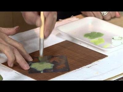 Vida Melhor - Artesanato: Técnica pátina em linho (Carlos Saad)