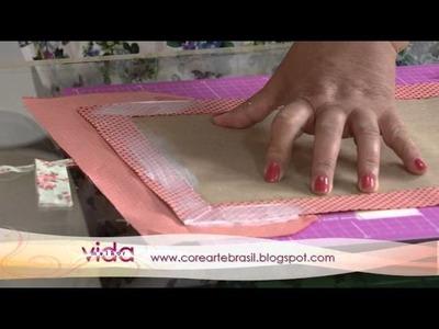 Aprenda a fazer uma linda capa pra agenda de 2012!