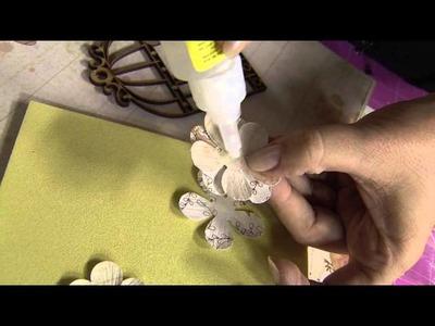Aprenda a técnica de forração com papel scrap!