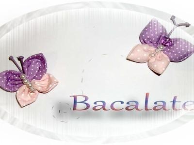 Artesanato BORBOLETAS de FUXICO simples e com enchimento - Handmade DIY Mariposa