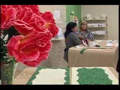 Barrados Artesanais com Deize Costa -  Vitrine do Artesanato na TV