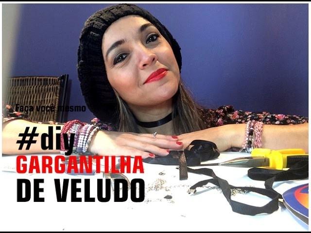 Como fazer gargantilha | Tutorial - DIY Cris Cardoso