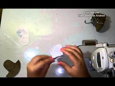 Como fazer o sapatinho (tênis ou botinha)