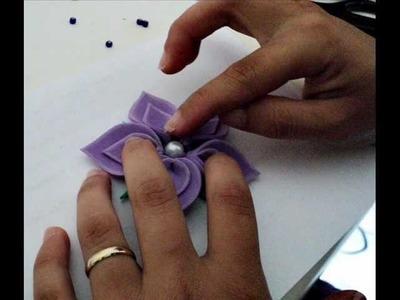 Como fazer uma flor linda em EVA, muito fácil!
