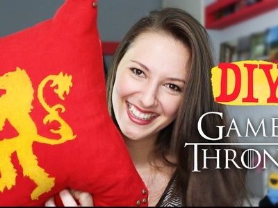 DIY - Almofadas Game of Thrones