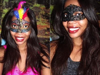 DIY Máscara de cola quente