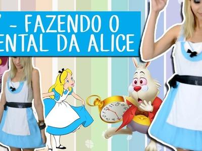 DIY - Tutorial de Avental Alice no País das Maravilhas