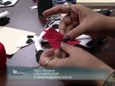 Mulher.com 04.09.2013 Karin Montone - Vaquinha porta coador Parte 2.2