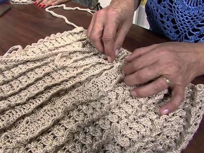 Mulher.com 12.03.2013 Luciana Panza - Blusa regata em croche parte 2