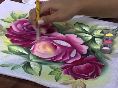 Mulher.com 25.04.2013 Ana Laura Rodrigues - Pintura em tecido Parte 2