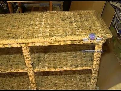 Nossa Gente: baiano faz móveis e peças artesanais com jornais recicláveis