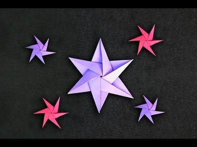 Origami:  Estrela de 6 pontas