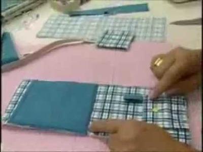 Passo a passo - Porta Celular - Fabricart Tecidos