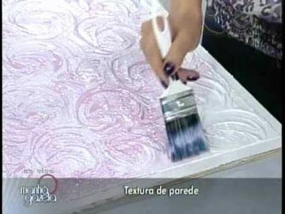 Textura - Efeito Rosas 1.1 - Programa Manhã Gazeta By Ângela Ferraz