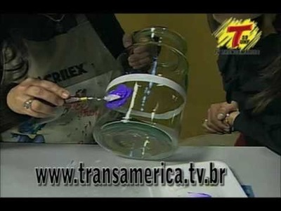 Tv Transamérica - Textura Em Vidro