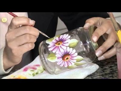 TV UP. Programa Marta Costa - O FUXICO Pintura em Vidros
