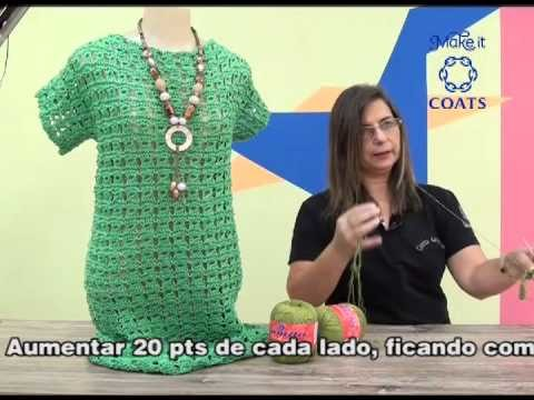 Vestido Gabriela em tricô Peruano com Camila Fashion