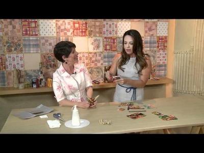 Vida Melhor - Artesanato: Carteira com caixa de leite (Carmen Recicla)