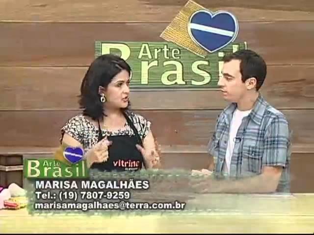 ARTE BRASIL - MARISA MAGALHÃES E KÁTIA ALMEIDA (09.03.2012)