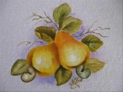 Pintura em tecido - Cajus