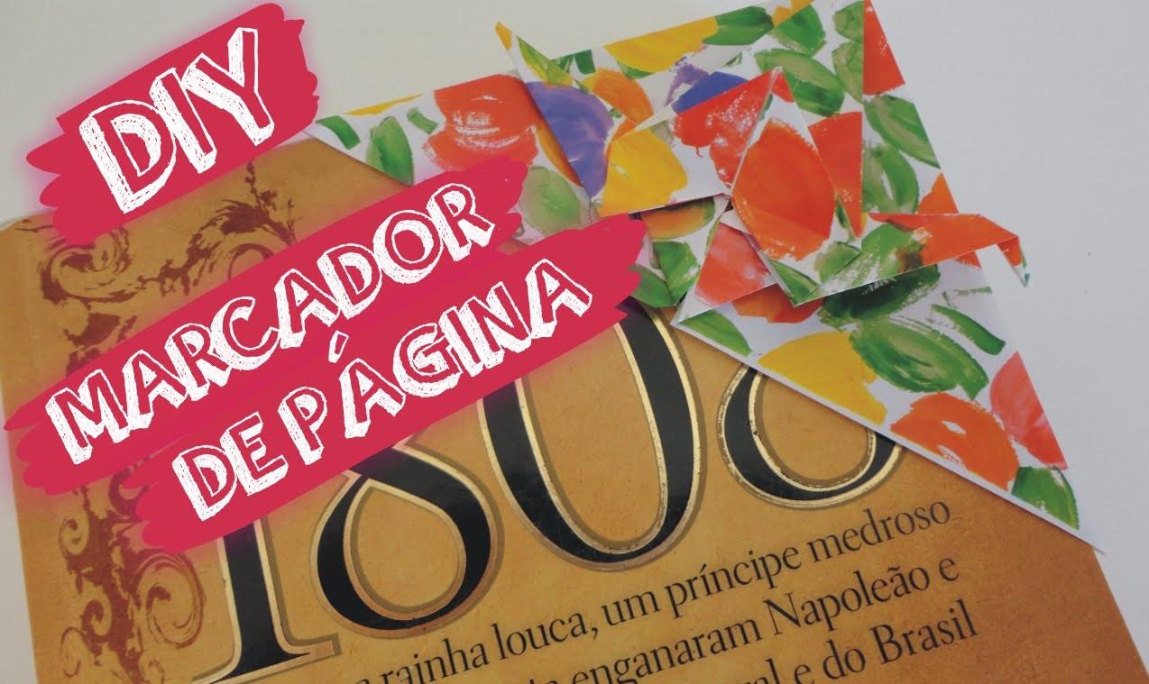 DIY marcador de página de tsuru | origami | dobradura | Lilian Luz