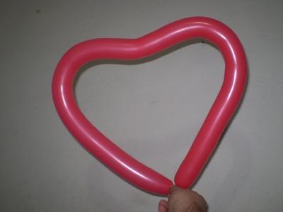 Esculturas de Balões - Coração