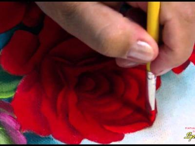 Pintando em 5 Minutos com Márcia Spassapan | Rosas Fluorescentes