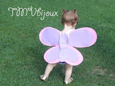 DIY - Asas de borboleta com EVA