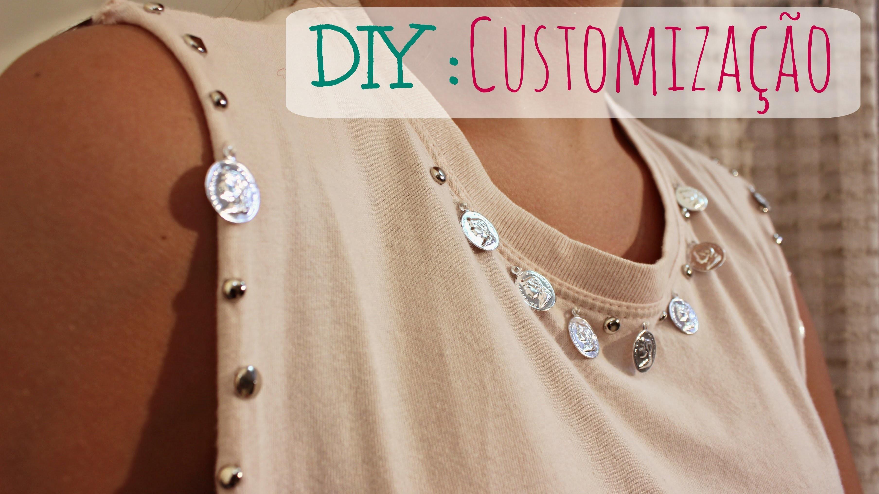 DIY: Customização de Blusa mais Despojada