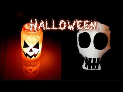 DIY: Decoração para festas de Halloween 4 ideias (Halloween Party decor).