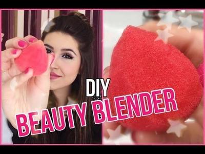 DIY: Faça Sua Própria Beauty Blender (Fácil)