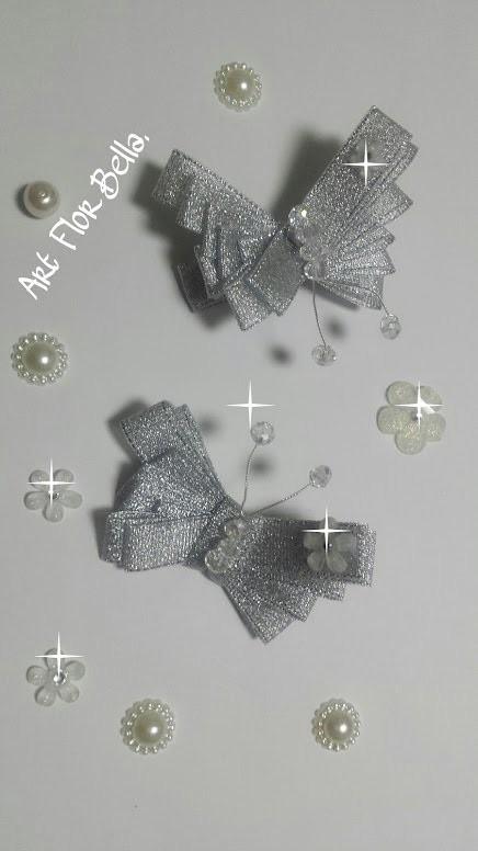 Como fazer Borboleta com fita de cetim