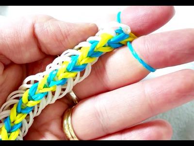 Rainbow Loom-Pulseira de Elástico com os dedos-Gomitas-Loom bands-rainbow loom