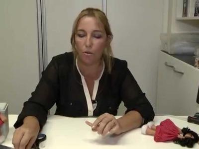 Boneca Russa  com moldes - Artesã Hermela Cris - Cenário Feminino em 28.06.2014