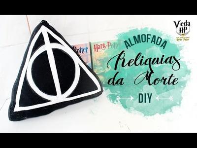 DIY ALMOFADA RELIQUIAS DA MORTE ❤ VEDA HP #29