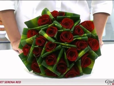 Bouquet Serena Red - Presente Romântico - Giuliana Flores