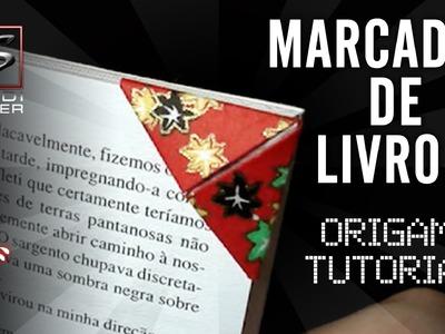 Aprenda a dobrar um Marcador de Livro Origami I - Bookmarker Origami Tutorial - SHINDIMASTER