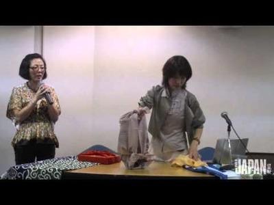 Aprenda a fazer uma ecobag de furoshiki
